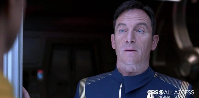 Captain Lorca (Jason Isaacs) Helps Out At the Blackpool Illuminations!