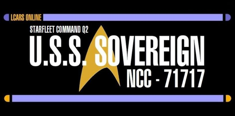 Change of Command: USS Sovereign