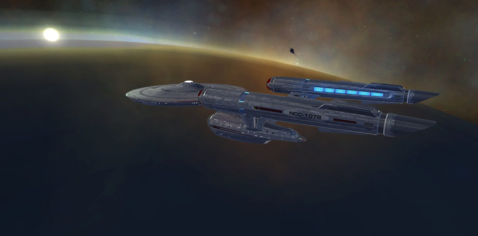 Star Trek Online Launches the Discovery-Style Constitution