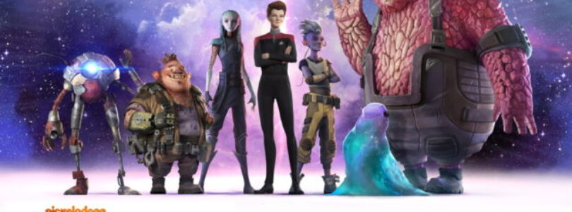 Captain on Deck! Janeway art revealed for Prodigy.